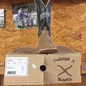 Twisted x men's cowboy boots size 8 D